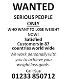Weight Loss Flyers from Good Time Print